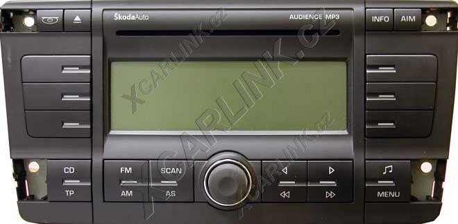 adapt233r usbsd mp3 vstup pro autor225dio Škoda mp3auto