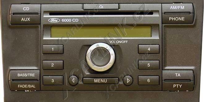 Schema Collegamento Autoradio Ford 6000 Cd : Adaptér usb sd mp vstup pro autorádio ford auto