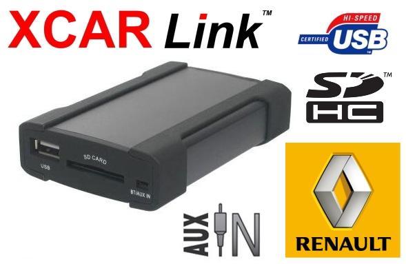 Převodník pro přehrávání MP3, SDCard, USB Adapter-usb-sd-mp3-vstup-pro-autoradio-renault