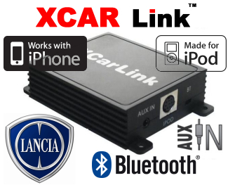 Auto adaptér iPod/iPhone a Bluetooth - Lancia