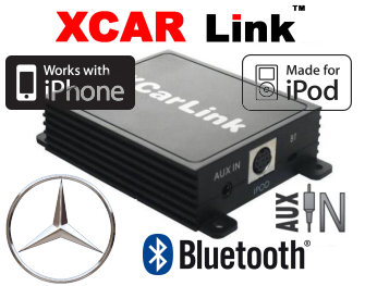 Auto adaptér iPod/iPhone a Bluetooth - Mercedes