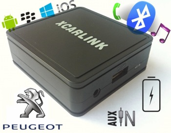 XCarLink NEW Bluetooth SMART - Peugeot