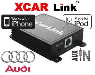 XCarLink adaptér iPod/iPhone vstup k autorádiu Audi