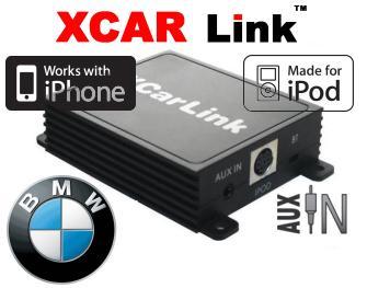 XCarlink Adaptér iPod/iPhone vstup pro autorádio BMW