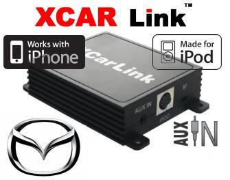 Adaptér iPod/iPhone vstup pro autorádio Mazda