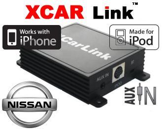 Adaptér iPod/iPhone vstup pro autorádio Nissan