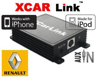 Adaptér iPod/iPhone vstup pro autorádio Renault