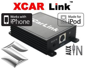 Adaptér iPod/iPhone vstup pro autorádio Suzuki