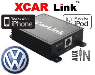 Adaptér iPod/iPhone vstup pro autorádio Volkswagen