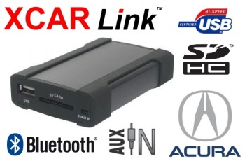XCarLink - adaptér USB/SD/Bluetooth Acura