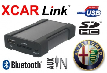 XCarLink Adaptér USB/SD/Bluetooth Alfa Romeo