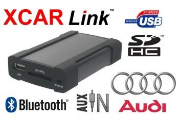 XCarLink adaptér USB/SD/Bluetooth Audi