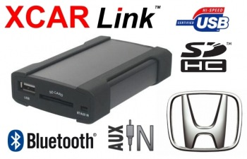 Adaptér USB/SD/Bluetooth handsfree - Honda