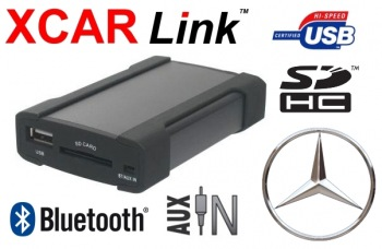 Adaptér USB/SD/Bluetooth handsfree - Mercedes