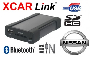 Adaptér USB/SD/Bluetooth handsfree - Nissan