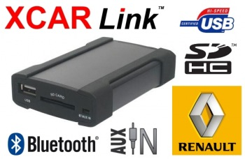 Adaptér USB/SD/Bluetooth handsfree - Renault