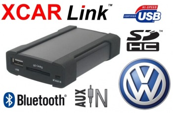 Adaptér USB/SD/Bluetooth handsfree - Volkswagen