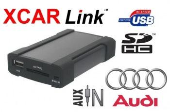 XCarLink Adaptér USB/SD MP3 vstup pro autorádio Audi