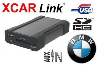 XCarLink Adaptér USB/SD MP3 vstup pro autorádio BMW