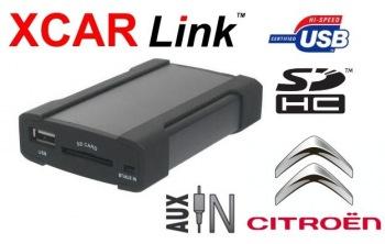 Adaptér USB/SD MP3 vstup pro autorádio Citroen