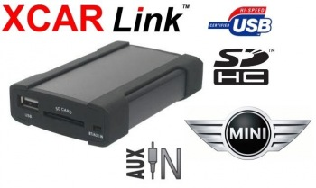 Adaptér USB/SD MP3 vstup pro autorádio Mini