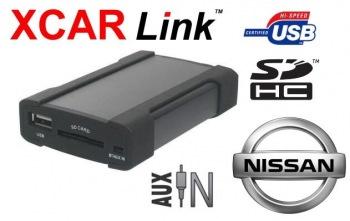 Adaptér USB/SD MP3 vstup pro autorádio Nissan