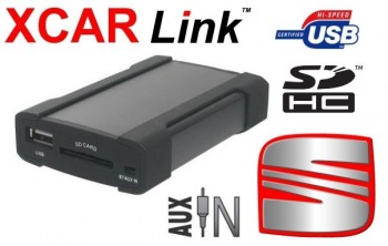 Adaptér USB/SD MP3 vstup pro autorádio Seat