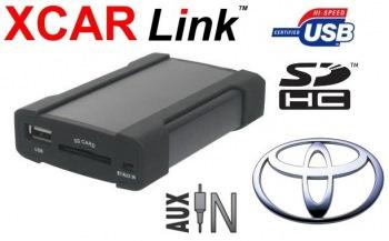 Adaptér USB/SD MP3 vstup pro autorádio Toyota