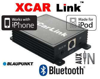 Auto adaptér iPod/iPhone a Bluetooth - Blaupunkt