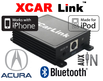XCarLink iPod/iPhone a Bluetooth - Acura
