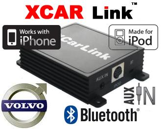 Auto adaptér iPod/iPhone a Bluetooth - Volvo