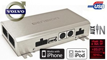 DENSION Gateway 500 optic - USB/iPod/iPhone/AUX Volvo