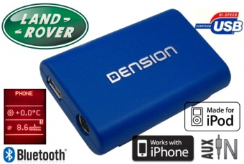 DENSION Gateway Lite 3 Bluetooth handsfree Land Rover