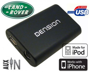 DENSION Gateway Lite 3 USB/iPod/iPhone Land Rover