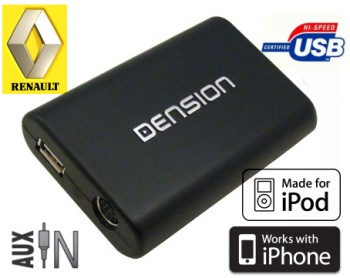 DENSION Gateway Lite 3 USB/iPod/iPhone Renault