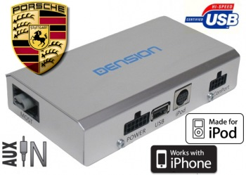 DENSION Gateway Lite MOST - USB/iPod/iPhone Porsche