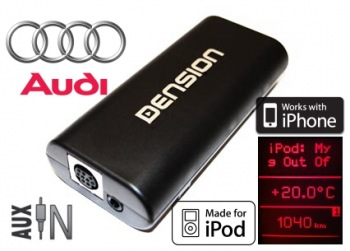 DENSION Gateway 100 DUAL CAN - integrace iPod/iPhone