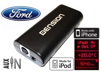 Gateway 100 DUAL CAN - integrace iPod/iPhone Ford