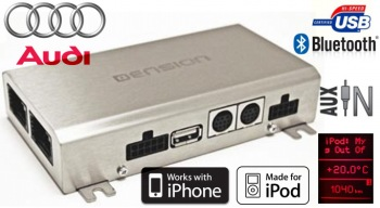 DENSION Gateway 500 - USB/iPod/iPhone Audi MMI Basic a MMI 2G