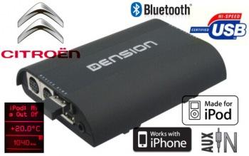 Gateway PRO BT- USB/iPod/iPhone a Bluetooth rozhraní pro Citroen