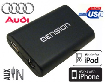 DENSION Gateway Lite 3 USB/iPod/iPhone Audi