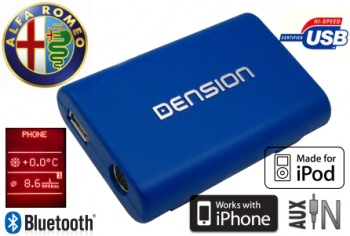 DENSION Gateway Lite 3 Bluetooth handsfree Alfa Romeo