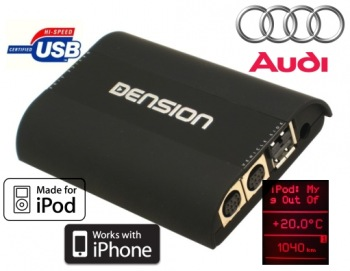 DENSION Gateway MMI 3G iPod/USB (handsfree)