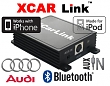 XCarLink adaptér iPod/iPhone a Bluetooth Audi