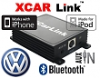 Auto adaptér iPod/iPhone a Bluetooth - Volkswagen